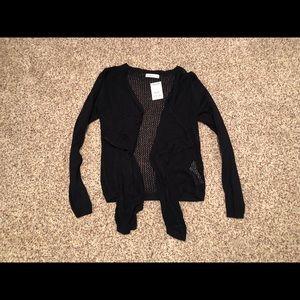 A&F knit cardigan - size M/L - NWT